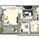 Apartament - 110mpc - 1. Floor - 3D Photo - 17699633