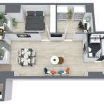 Apartament 3 camere 90mpc model 3