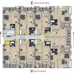 Plan etaj bloc RO5