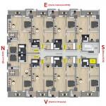 Plan etaj bloc RO6