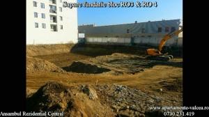 Saparea fundatiei